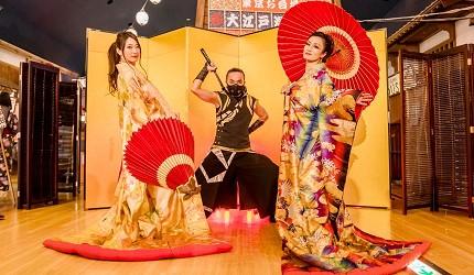 東京溫泉推介推薦台場大江戶溫泉物語雷光緣舞表演