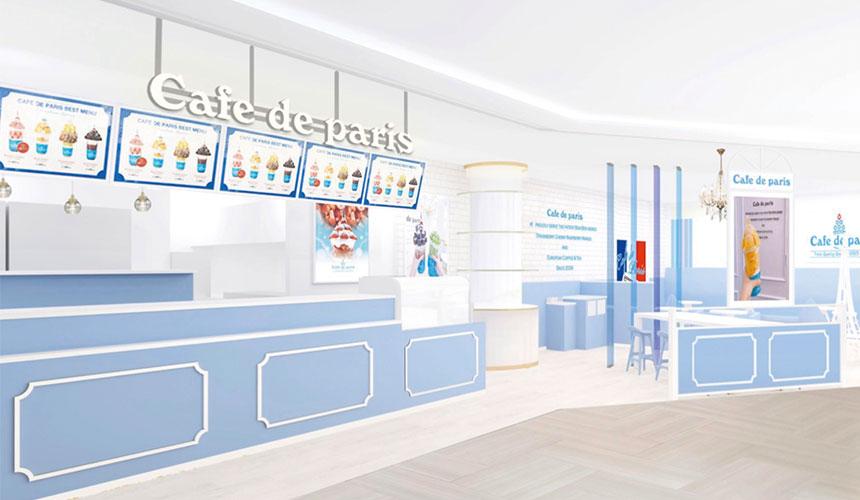 韓國人氣咖啡「Cafe de Paris」聯名HELLO KITTY進駐新宿百貨!