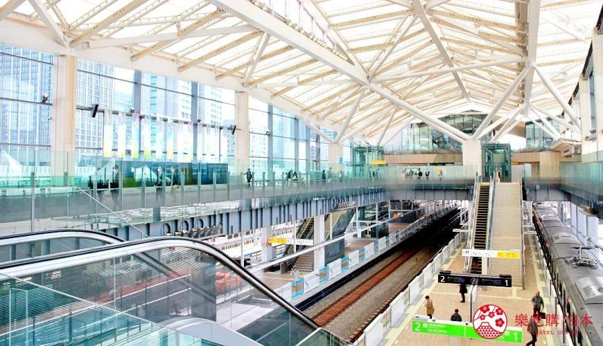 东京山手线「高轮Gateway站」内景